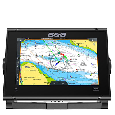 b and g vulcan 7 multifunction display chart