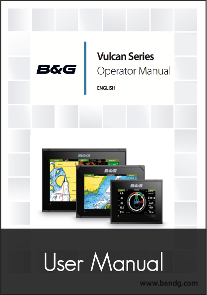 b g vulcan r series user manual