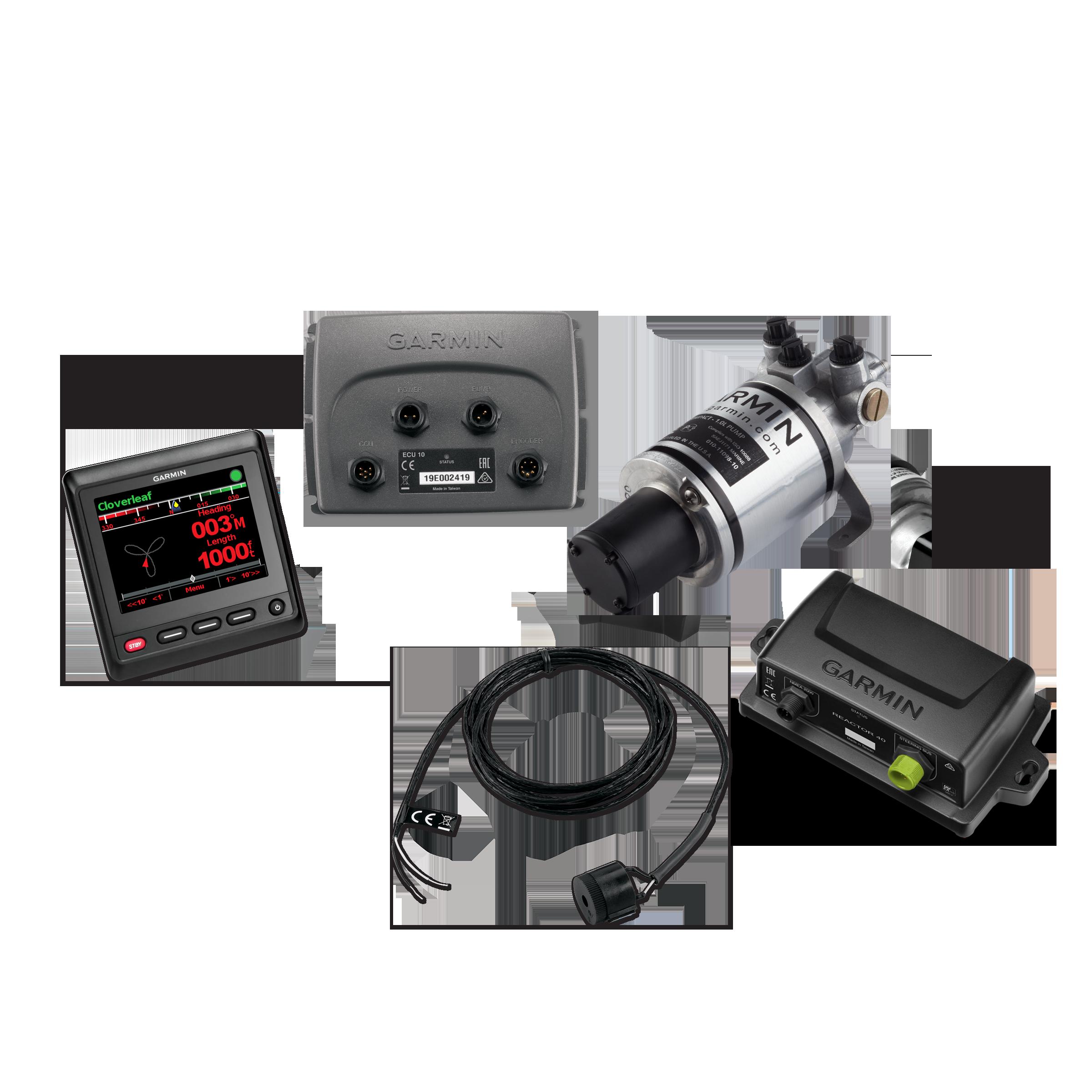 garmin compact reactor 40 hydraulic autopilot ghc 20 corepack
