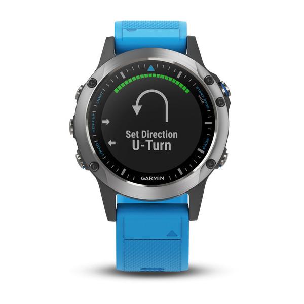 garmin quatix 5 marine smartwatch front view