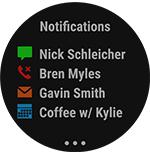 garmin quatix 5 marine smartwatch notifications