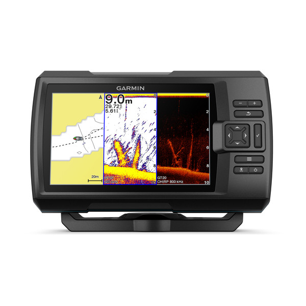 garmin striker plus 7cv fishfinder front
