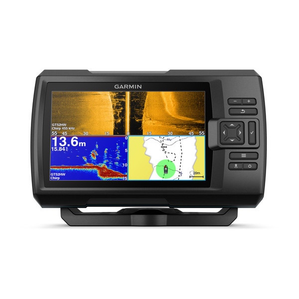 garmin striker plus 7sv fishfinder front