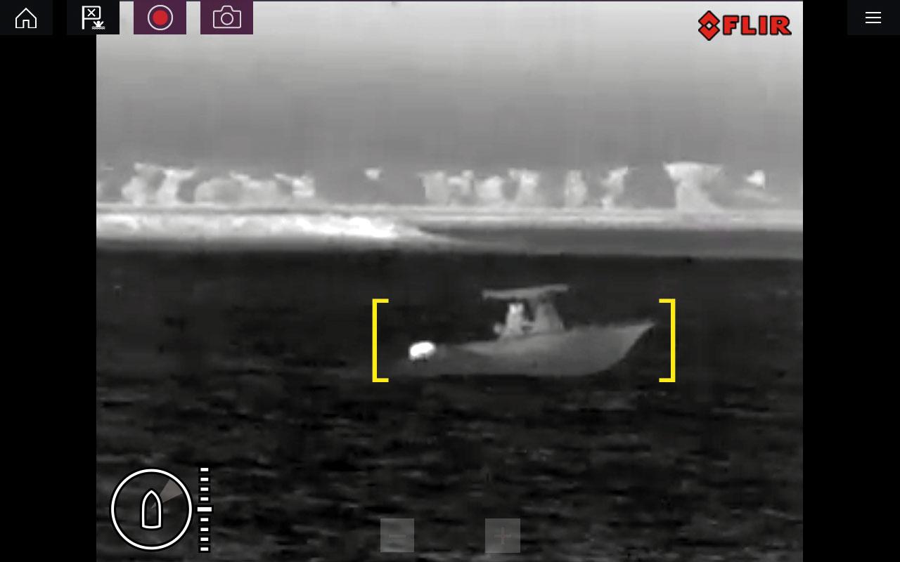 raymarine m100 200 active alert screenshot