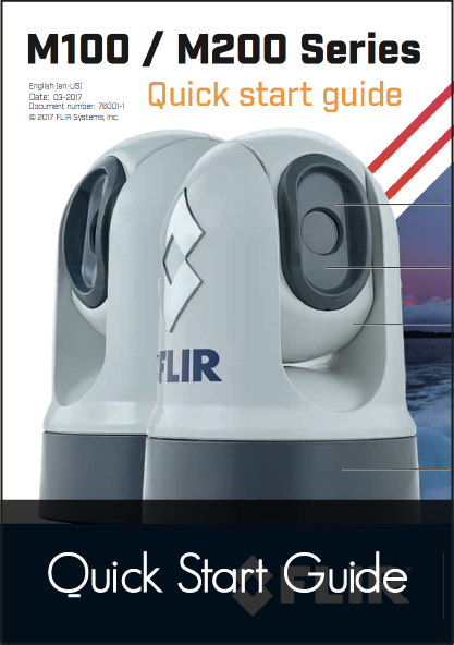 raymarine m100 m200 thermal camera quick start guide